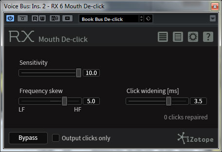 RX Mouth De-Click