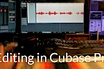 A demonstration of editing an audiobook in Cubase